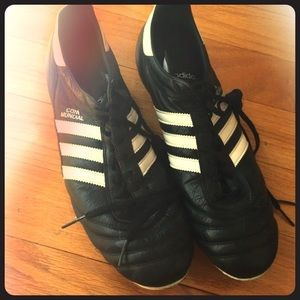 321bc538761 Adidas copa mundial soccer cleats. Leather.